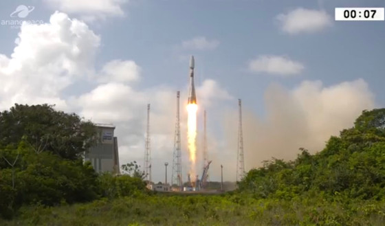 First satellite for the French Military's surveillance network launched on Soyuz rocket