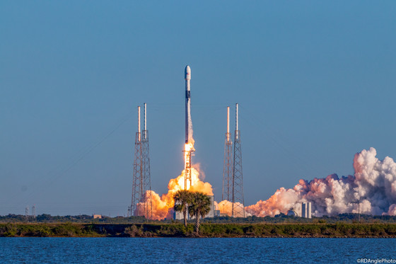 SpaceX launches GPS satellite for Air Force with expended Falcon 9