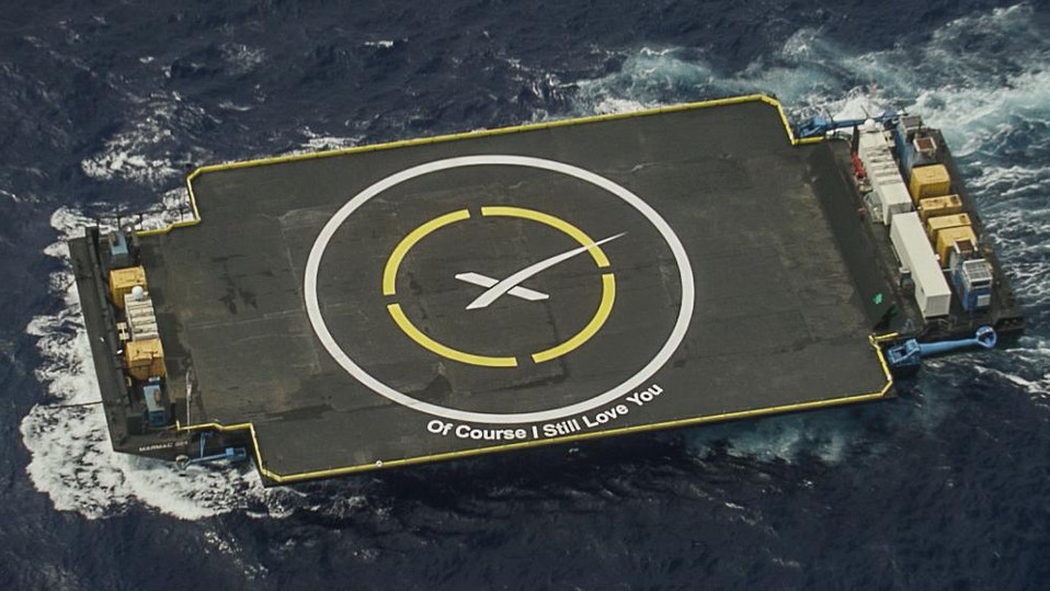 New droneship under construction for SpaceX rocket recovery