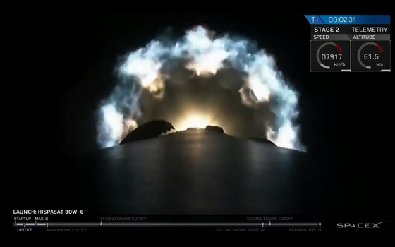 SpaceX successfully launches their largest payload on their 50th Falcon 9 launch