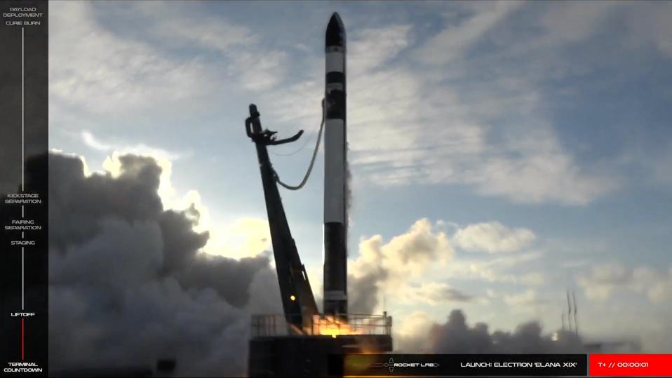 Rocket Lab successfully launches NASA's ElaNa-19 mission