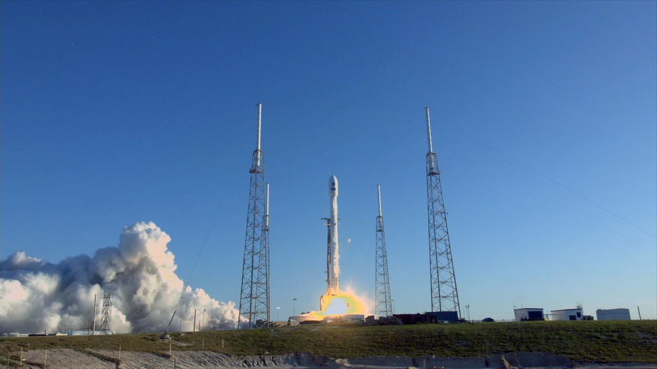 TESS successfully delivered into orbit on the Falcon 9