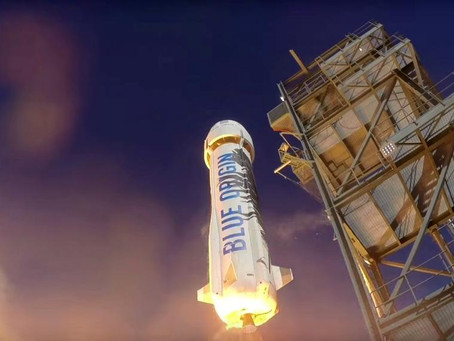 Blue Origin's first launch of 2018 will take place this afternoon