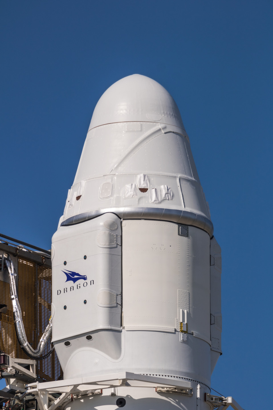 Amidst weather, Dragon is preparing for launch tomorrow morning.