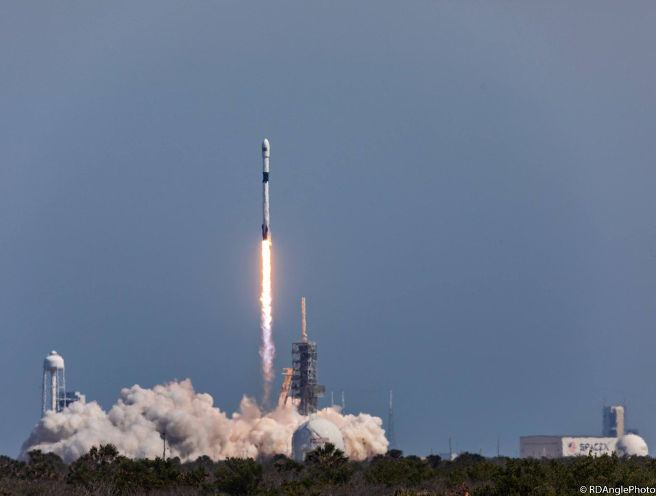 The first re-flight of a Falcon 9 block 5 booster launches tomorrow night