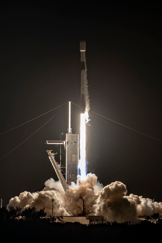 Back-to-back launches at the Cape today