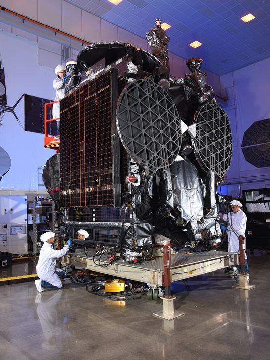 The GovSat-1 satellite. Photo // OrbitalATK