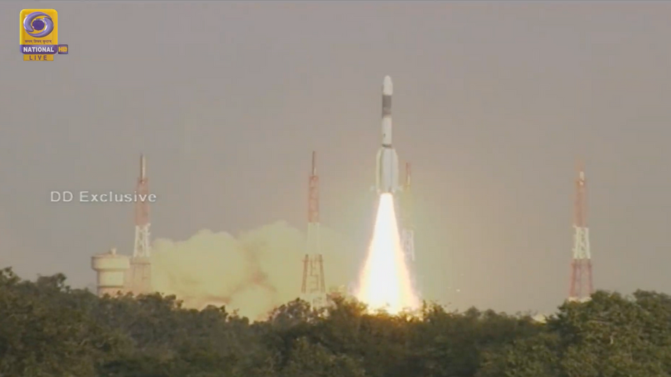 Indian Air Force satellite successfully launched atop GLSV Mk.2 rocket