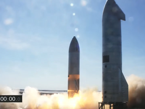 Starship completes 10km flight test, just barely misses the landing