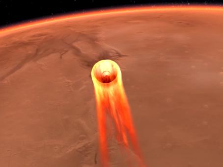 NASA InSight on track to land on Mars tomorrow