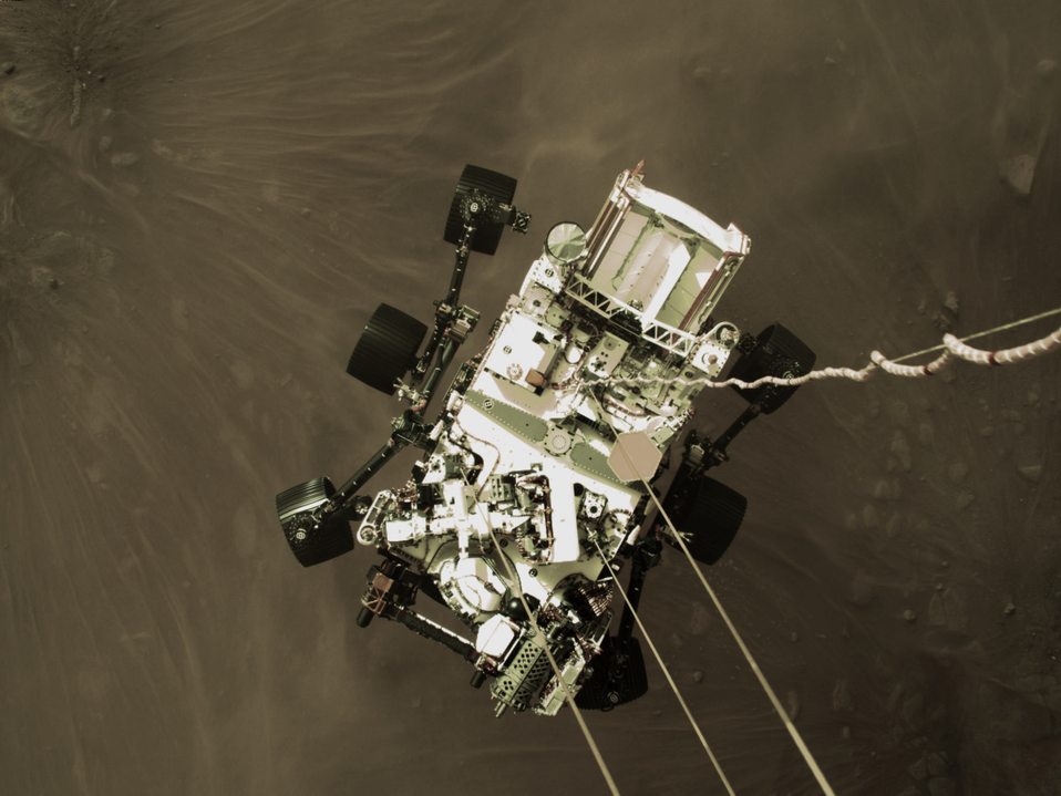 NASA's Perseverance rover successfully lands on Mars, sends back mind-blowing imagery