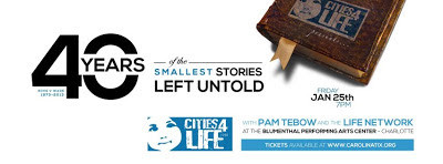 Cities4Life and Pam Tebow: 40 Years of Untold Stories