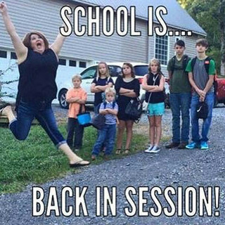 """Back To School """"We"""" Time"""
