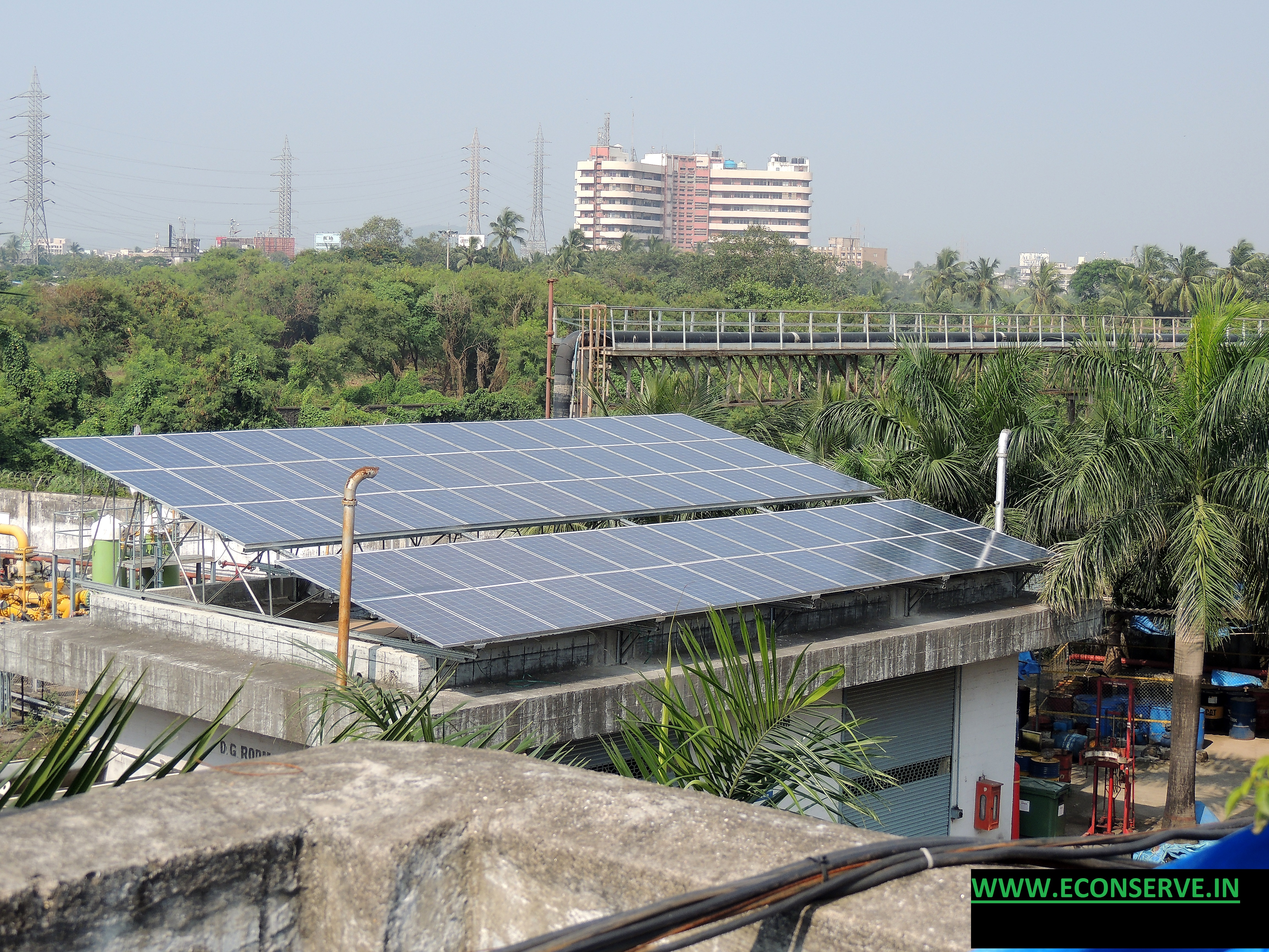 Solar Energy Photo Voltaic Rooftop Project