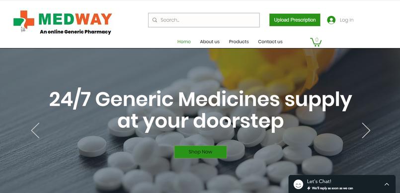 Online Pharma Store