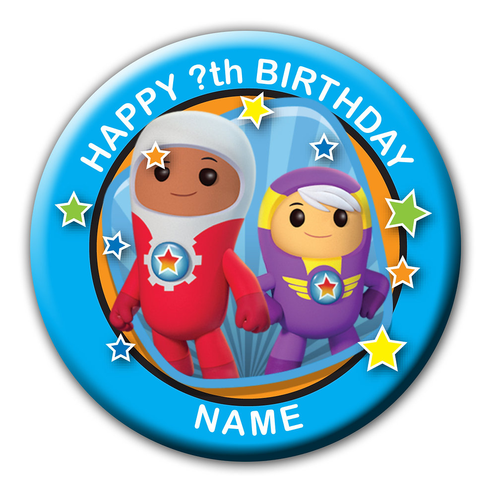 Go Jetters Birthday Badges And Gifts