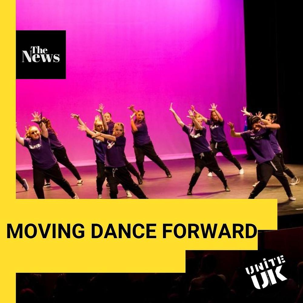Dance class in Poole, Dorset