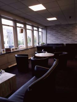 Coffee shop area