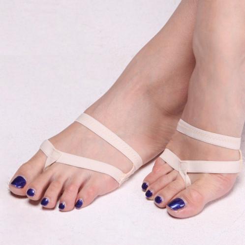 Strap foot thong