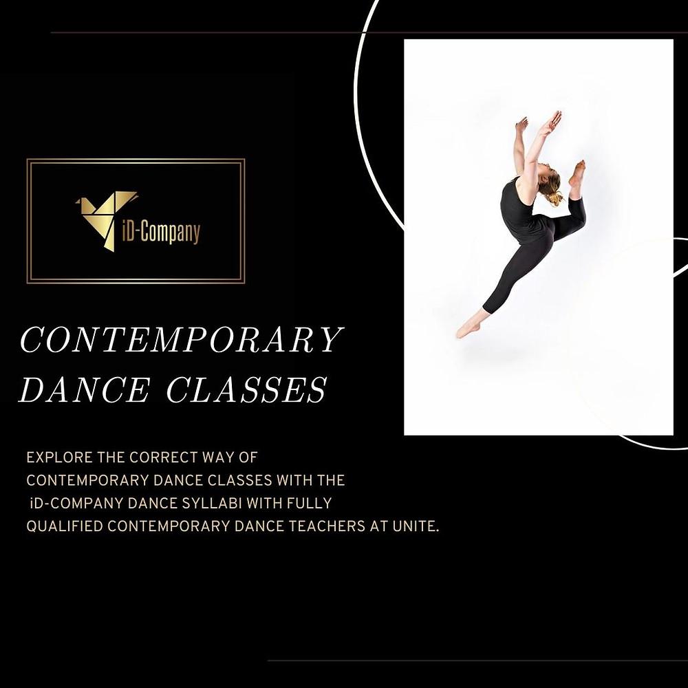 Contemporary dance classes in poole, Dorset