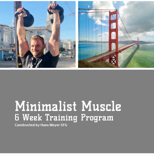 Minimalist Muscle Training Program