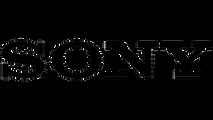 black sony logo