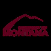 dark red university of montana logo