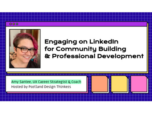 October 7th: Engaging on LinkedIn for Community Building and Professional Development