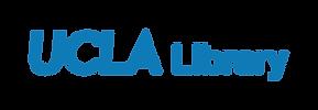 ucla library logo blue