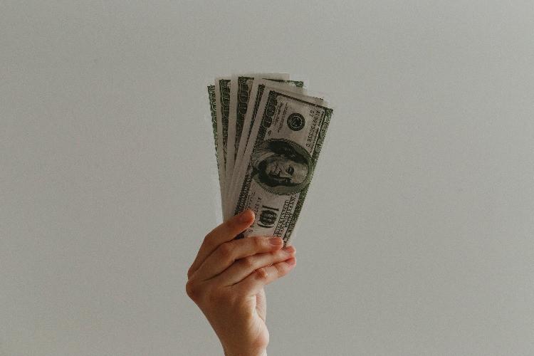 Dollari in banconote