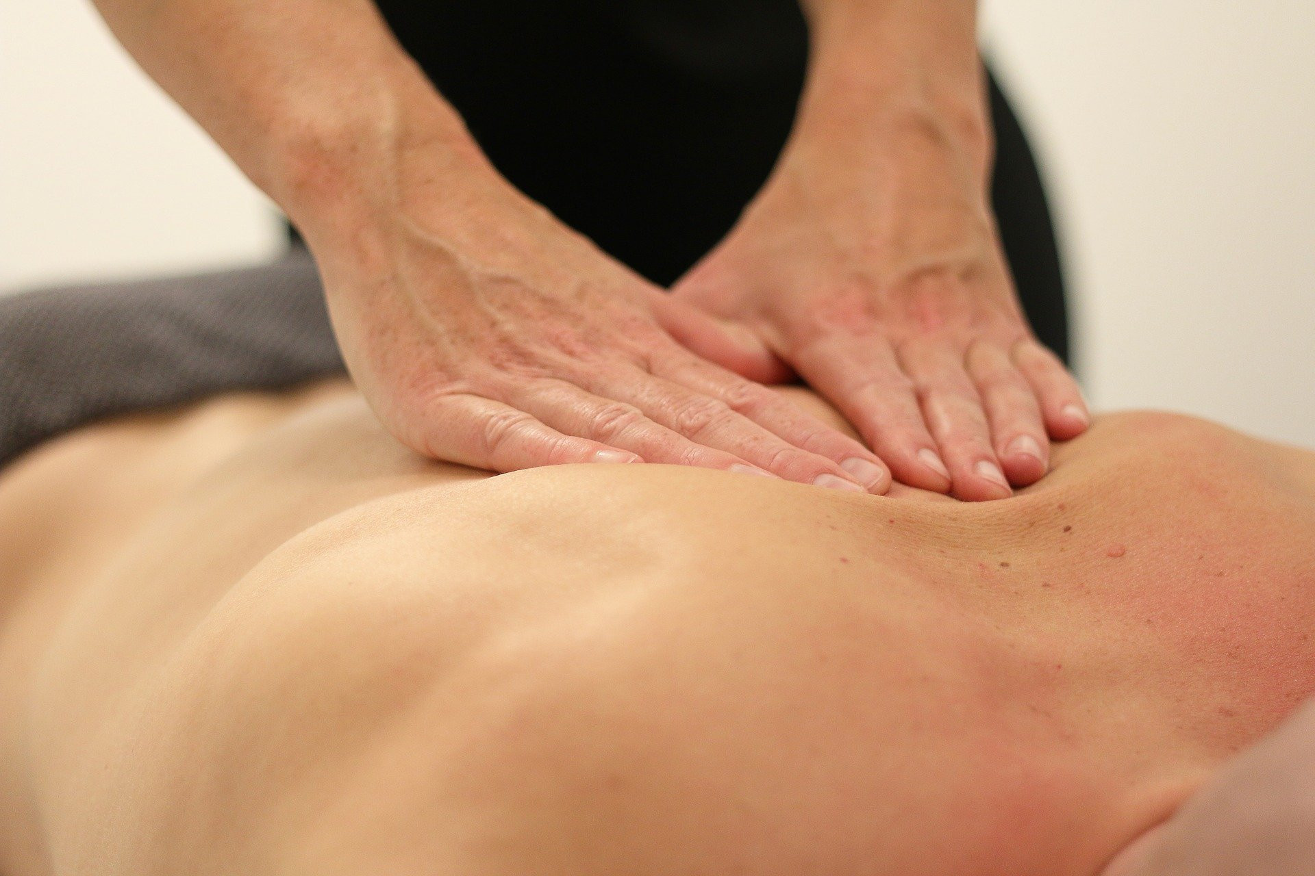 Sessão de massagem relaxante