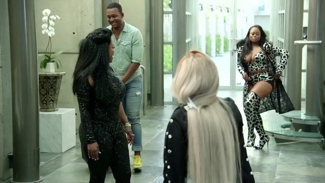 Xscape trying on outfits.