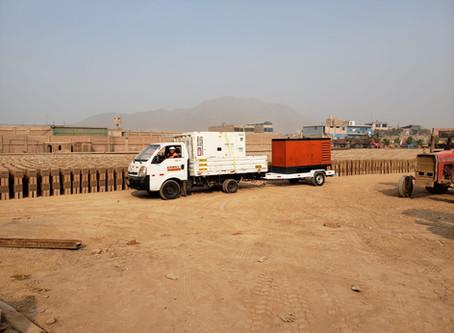 Alquiler de grupo electrógeno en Huachipa