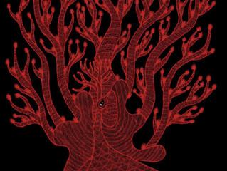 『夜の木』シルクスクリーン作品展