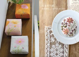 花と香り展  おのみちこ/atelier de nora
