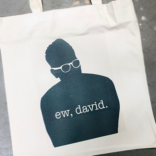 Ew David reusable Bag