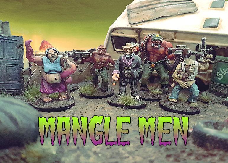Mangle Men Posse Pack