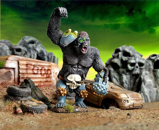 Haramborg - Giant Cyborg Gorilla