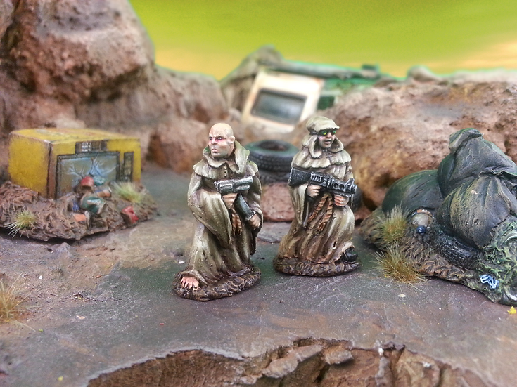 Pilgrims a packin'