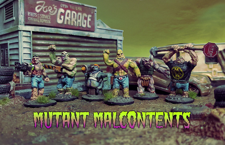 Mutant Malcontents Posse Pack