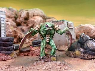 Beware the Mantis Man!