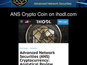 ANS Crypto Coin on ihodl.com