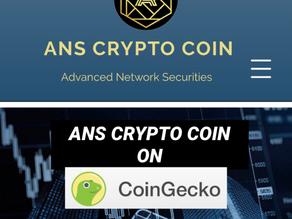 ANS Crypto Coin on Coingecko.com
