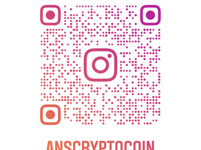 Follow us for News & Updates on Instagram  #anscryptocoin