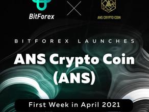 Bitforex Lists ANS Crypto Coin
