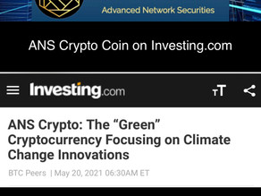 ANS Crypto Coin on Investing.com