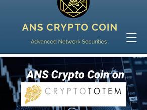 ANS Crypto Coin on CryptoTotem.com