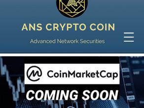 ANS Crypto Coin & CoinMarketCap COMING SOON