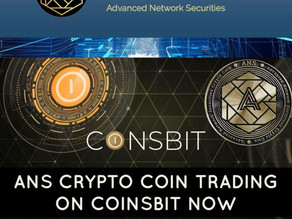 Trading Now on Coinsbit.io