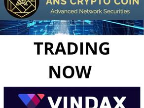 Trading Now on Vindax
